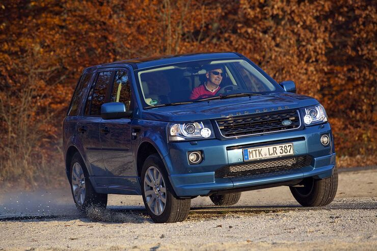 land rover freelander si4 erster test neue optik m chtig. Black Bedroom Furniture Sets. Home Design Ideas