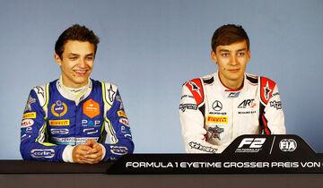 Lando Norris & George Russell - Formel 2 - Spielberg 2018