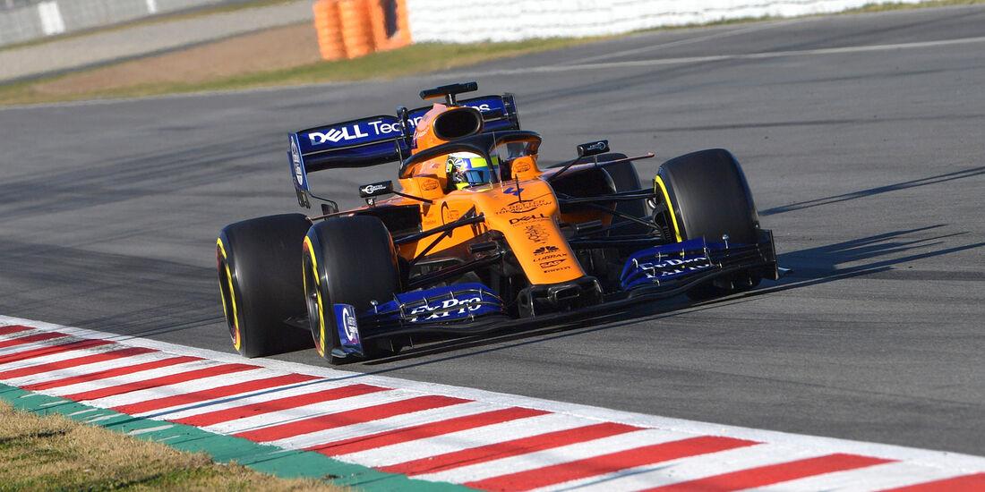 Lando Norris - McLaren - Barcelona-Test 2019