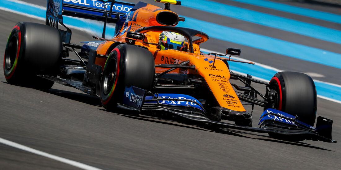 Lando Norris - McLaren - Formel 1 - GP Frankreich - 22. Juni 2019