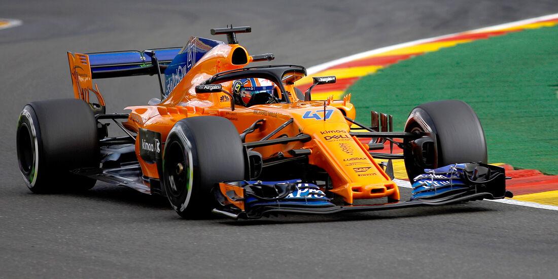 Lando Norris - McLaren - GP Belgien - Spa-Francorchamps - 24. August 2018