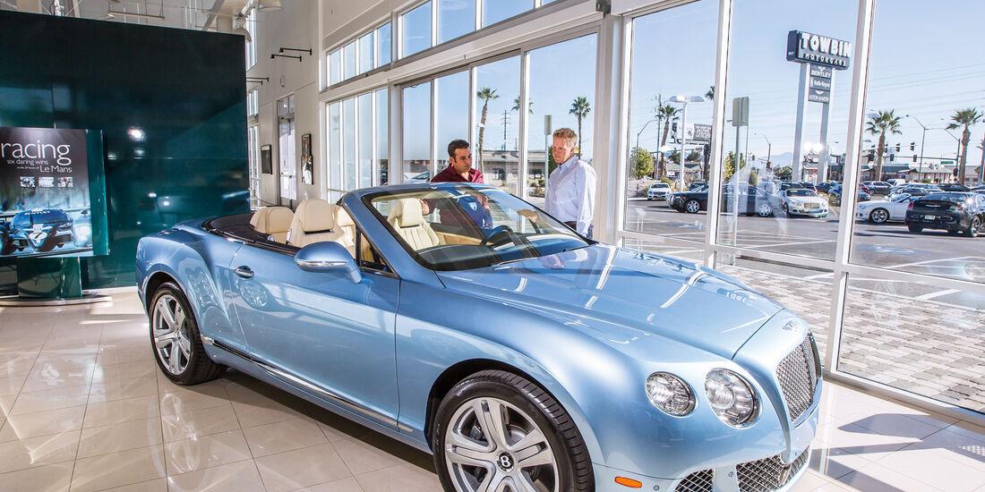 Las Vegas, Bentley Continental Cabrio