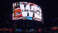 Las Vegas, Videowand, Lichtwerbung