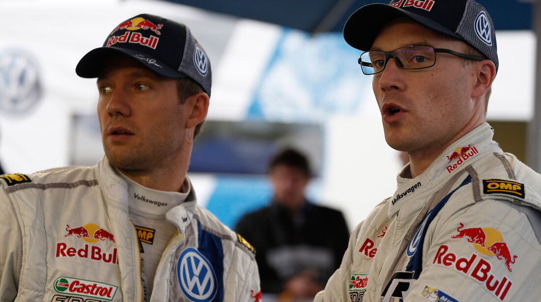 Latvala & Ogier - Rallye Argentinien 2014 - WRC