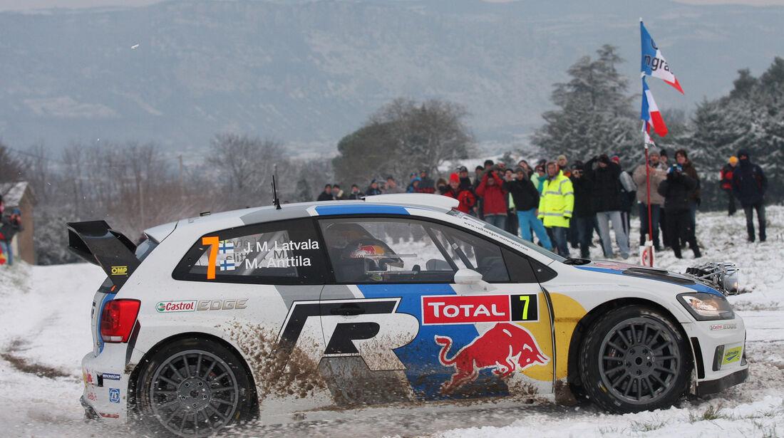 Latvala VW Rallye Monte Carlo 2013