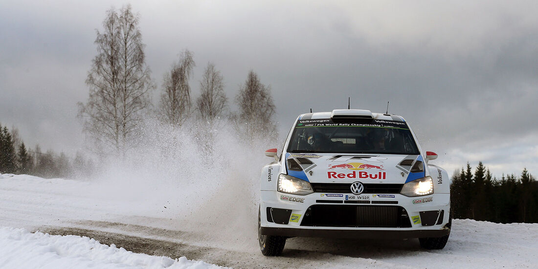 Latvala, WRC, VW Polo R WRC, Rallye Schweden 2014