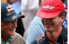 Lauda & Horner - GP Indien 2013