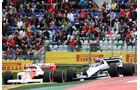 Lauda & Piquet - Legends Parade - GP Österreich 2015