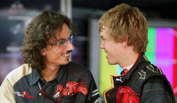 Laurent Mekies & Sebastian Vettel - Toro Rosso 2007