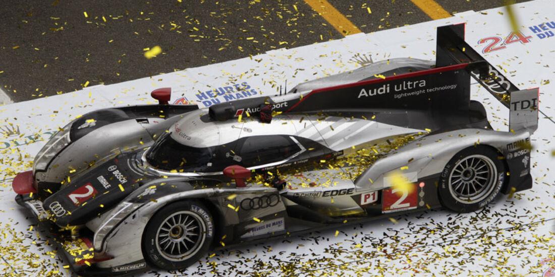 Le Mans 2011 Audi Sieger Lotterer Fässler Treluyer