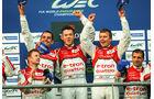 Le Mans, LMP1-Klasse, Podest, Siegerehrung
