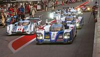Le Mans, LMP1-Klasse, Startaufstellung