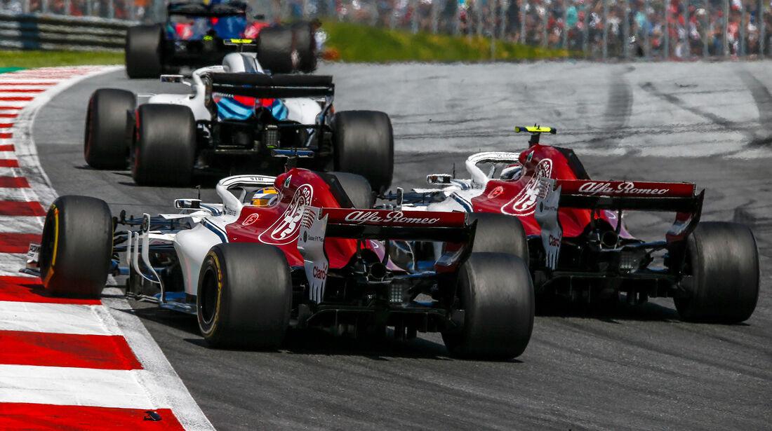 Leclerc & Ericsson - GP Österreich 2018