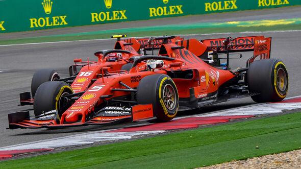 Leclerc vs. Vettel - GP China 2019