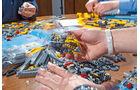 Lego-Technik, Auspacken