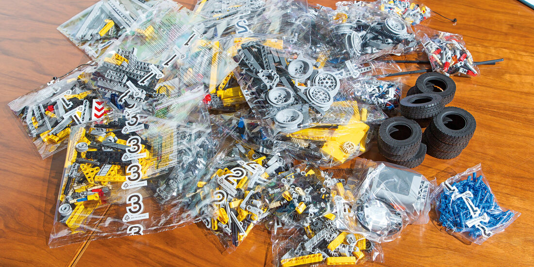 Lego-Technik, Tüten
