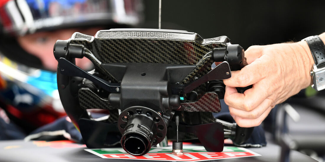 Lenkrad - Max Verstappen - Red Bull - GP Deutschland - Formel 1 - 29. Juli 2016
