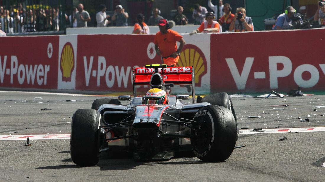 Lewis Hamilton F1 Belgien 2012