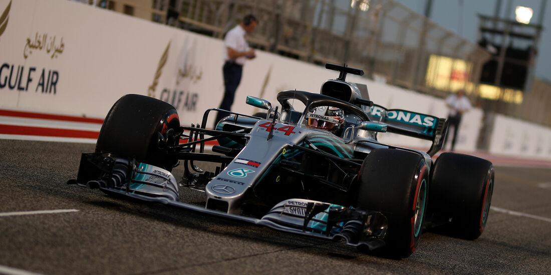 Lewis Hamilton - Formel 1 - GP Bahrain 2018