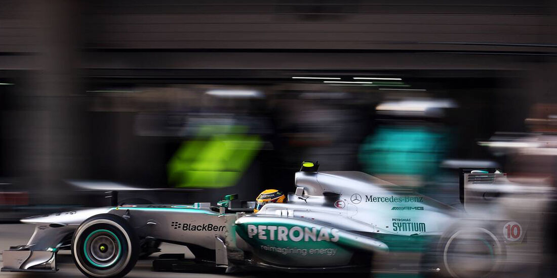 Lewis Hamilton - Formel 1 - GP China - 14. April 2013
