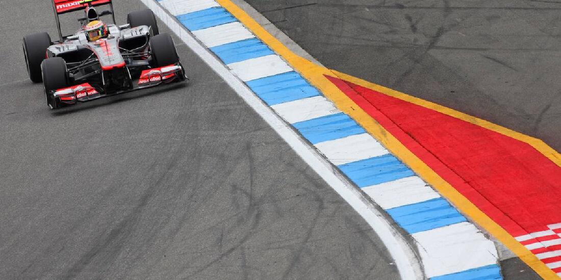 Lewis Hamilton - Formel 1 - GP Deutschland - 20. Juli 2012