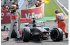 Lewis Hamilton GP Belgien 2012