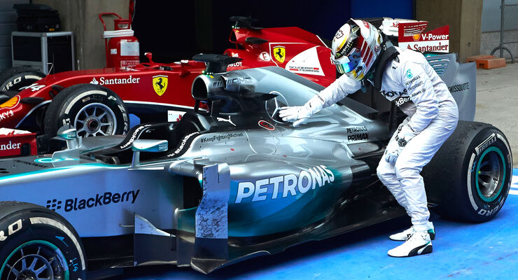 Lewis Hamilton - GP China 2014 - Formel 1 - Tops & Flops