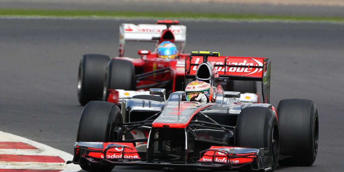 Lewis Hamilton GP England Silverstone 2012