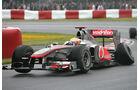 Lewis Hamilton GP Kanada Crashs 2011