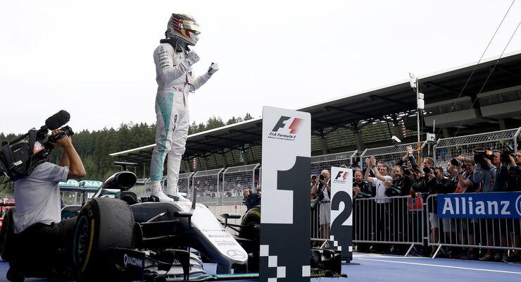Lewis Hamilton - GP Österreich 2016