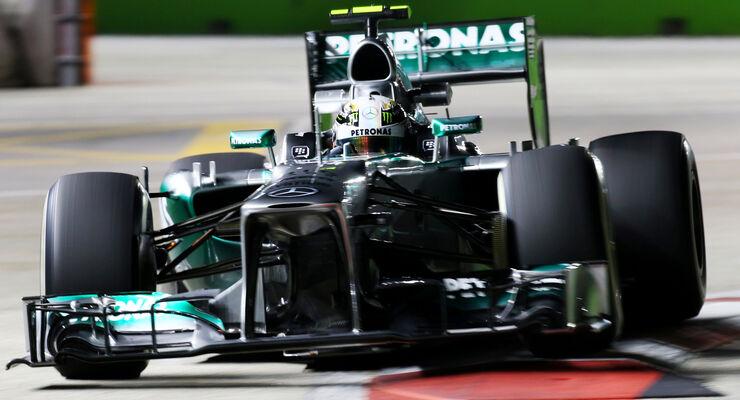 Lewis Hamilton GP Singapur 2013