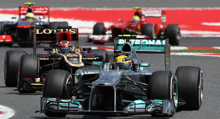 Lewis Hamilton GP Spanien 2013