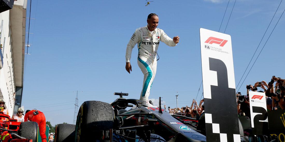Lewis Hamilton - GP Ungarn 2018