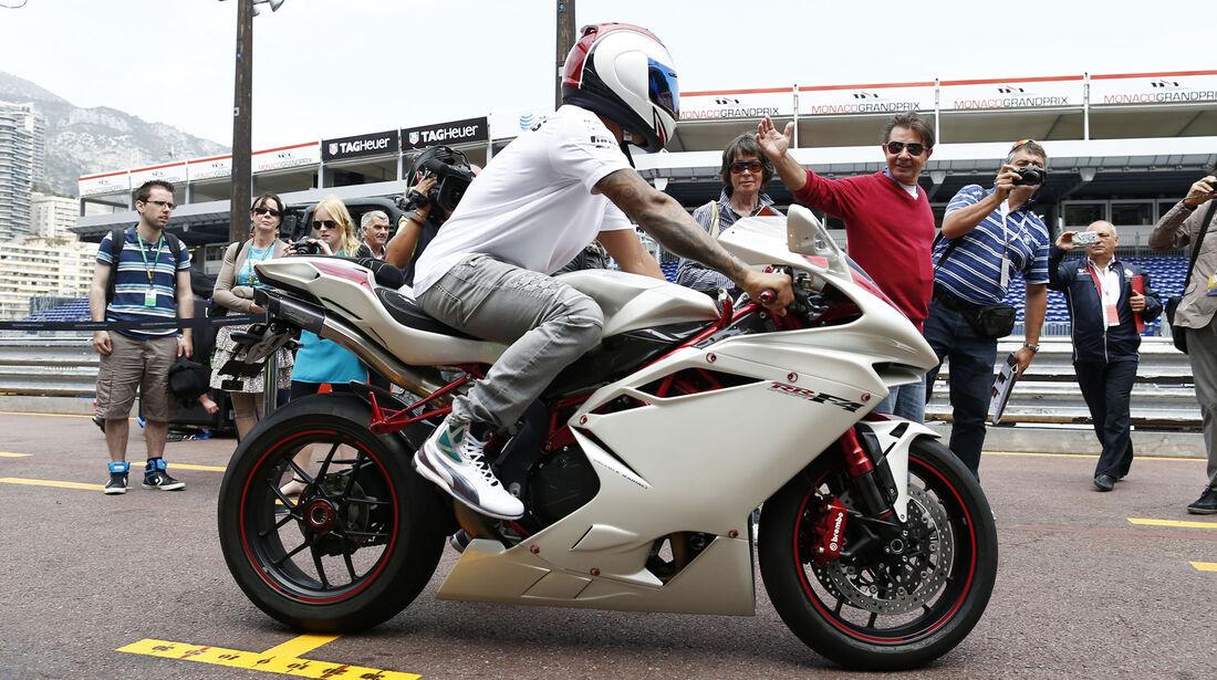 Lewis Hamilton - MV Agusta - Motorrad