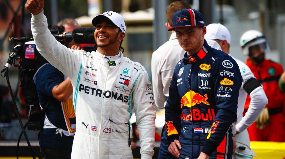 Lewis Hamilton - Max Verstappen - Formel 1 - GP Monaco - 25. Mai 2019
