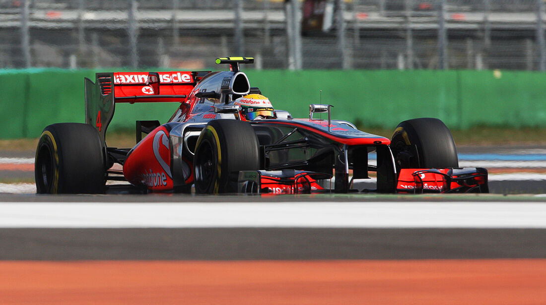 Lewis Hamilton - McLaren - Formel 1 - GP Korea - 12. Oktober 2012