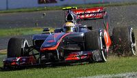 Lewis Hamilton McLaren GP Australien 2012