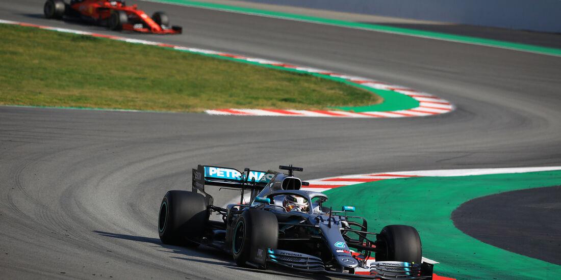 Lewis Hamilton - Mercedes - Barcelona - F1-Test - 01. März 2019