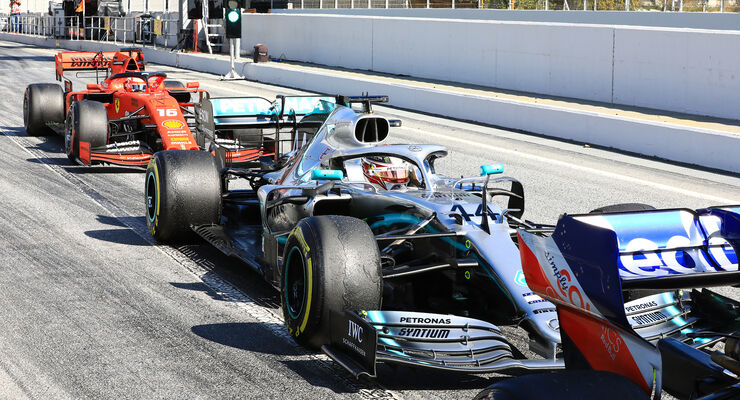 Lewis Hamilton - Mercedes - Barcelona - Test F1 - 28 February, 2019