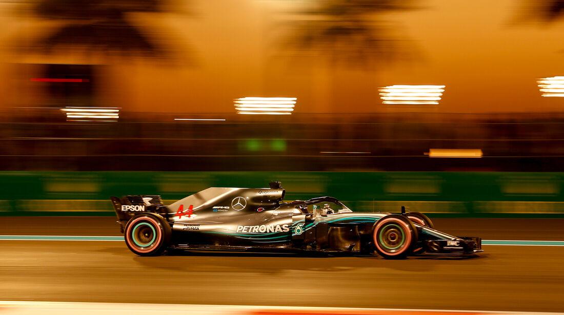 Lewis Hamilton - Mercedes - Formel 1 - GP Abu Dhabi  -24. November 2018