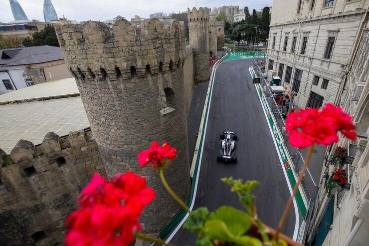 Lewis Hamilton - Mercedes - Formel 1 - GP Aserbaidschan - 28. April 2018