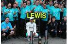 Lewis Hamilton - Mercedes - Formel 1 - GP Aserbaidschan - 29. April 2018