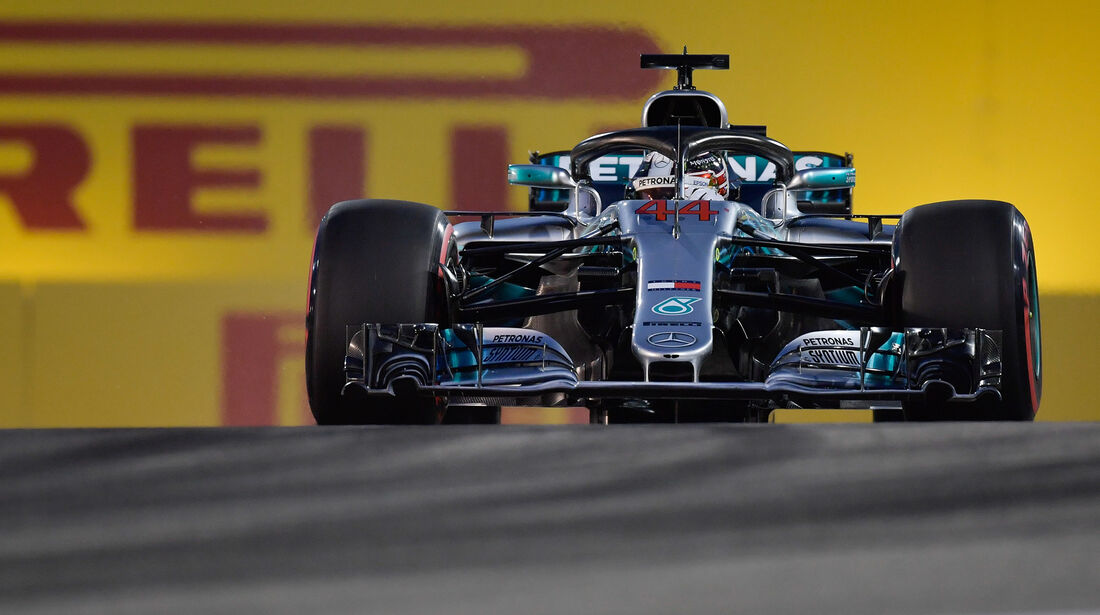 Lewis Hamilton - Mercedes - Formel 1 - GP Bahrain - 7. April 2018