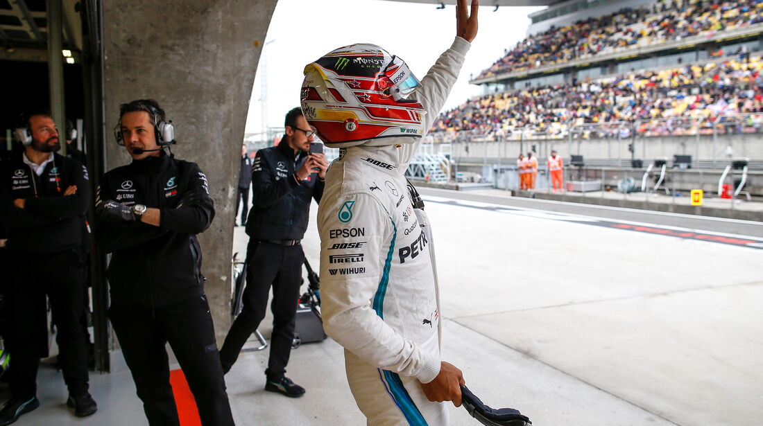 Lewis Hamilton - Mercedes - Formel 1 - GP China - Shanghai - 14. April 2018