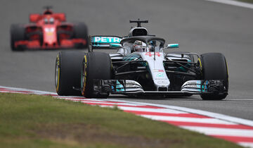Lewis Hamilton - Mercedes - Formel 1 - GP China - Shanghai - 14. April 2018
