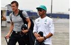 Lewis Hamilton - Mercedes - Formel 1 - GP China - Shanghai - 17. April 2014
