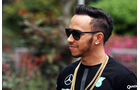 Lewis Hamilton - Mercedes - Formel 1 - GP China - Shanghai - 9. April 2015