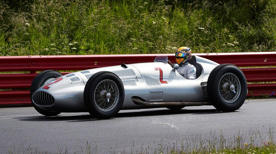Lewis Hamilton - Mercedes - Formel 1 - GP Deutschland - 4. Juli 2013