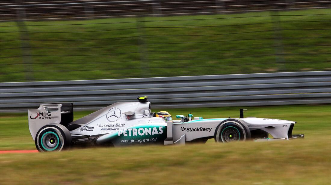Lewis Hamilton - Mercedes - Formel 1 - GP Deutschland - 5. Juli 2013