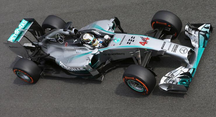 Lewis Hamilton - Mercedes - Formel 1 - GP Italien - 5. September 2014